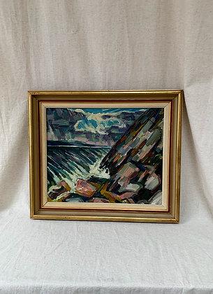 Framed Oil Painting by Sten Dahlström