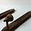 Thumbnail: Mid Century Wooden Sconces