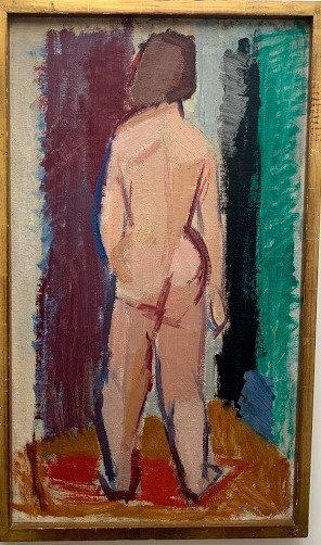 Framed Oil by Björn Nalle Werner, Swedish, 1950