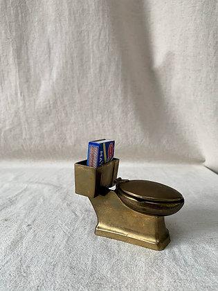 Brass Toilet Ashtray