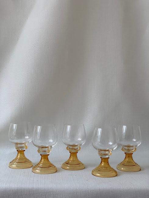 Set of 1970s German Glasses