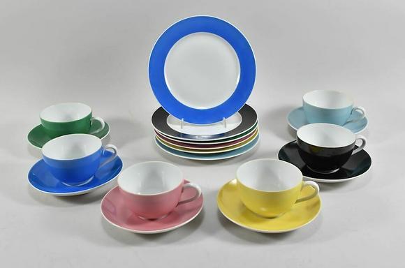 18 Pieces Of SPM Walkure Porcelain
