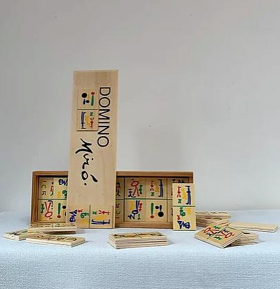Joan Miró Domino Set