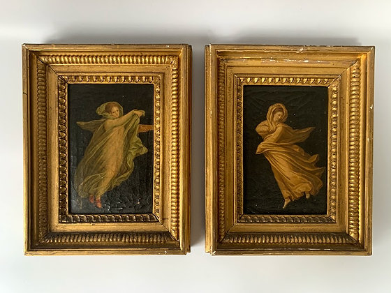 Set of Two 19th Century Framed Oil Paintings