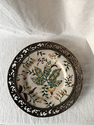Wall Plate, 19th Century, Hand Painted