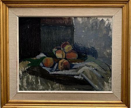 "Malin Tillberg 1916-1999, ""Peaches"", dated 1952"