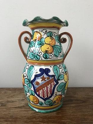 Large Italian Majolica Vase
