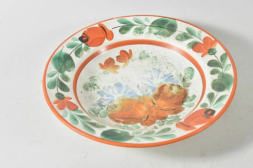 Hungarian Ceramic Wall Bowl