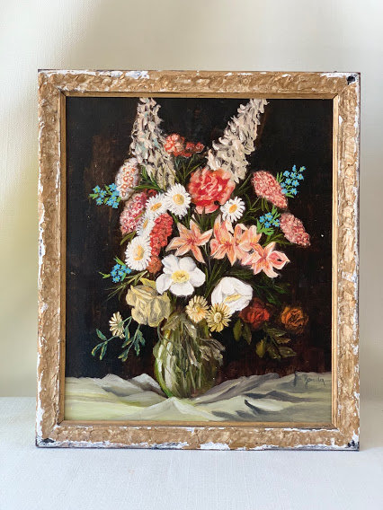 Painting of Bouquet, German, 20th Century