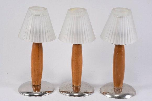 Set of Three Tea Light Holders