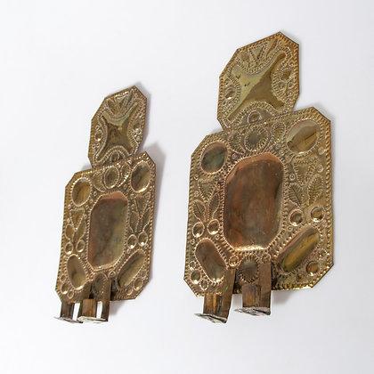 Baroque Style Sconces, 20th Century, Swedish