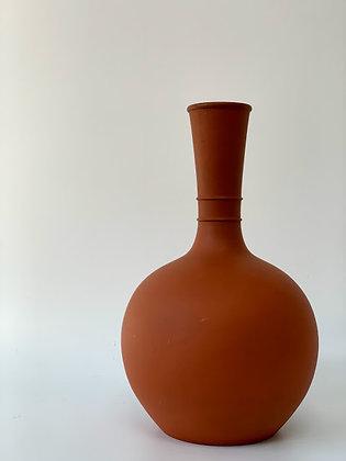 Vintage Terracotta Clay Studio Art Vase