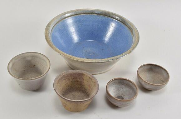 Set of Vintage Ceramic Bowls