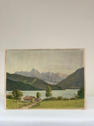 Painting on board, Unknown, 20th Century