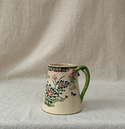 19th Century Hand Painted Milk Jug