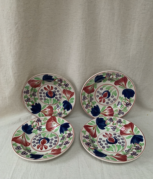Set of Late 19th Century Songeware Soup Bowls