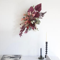 #6 Preserved & Dried Flower Wall Hanging $160