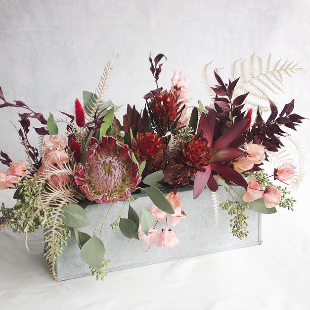 #5 Preserved & Dried Flower Arrangement $140