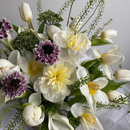 #2 Bouquet Blanc $150