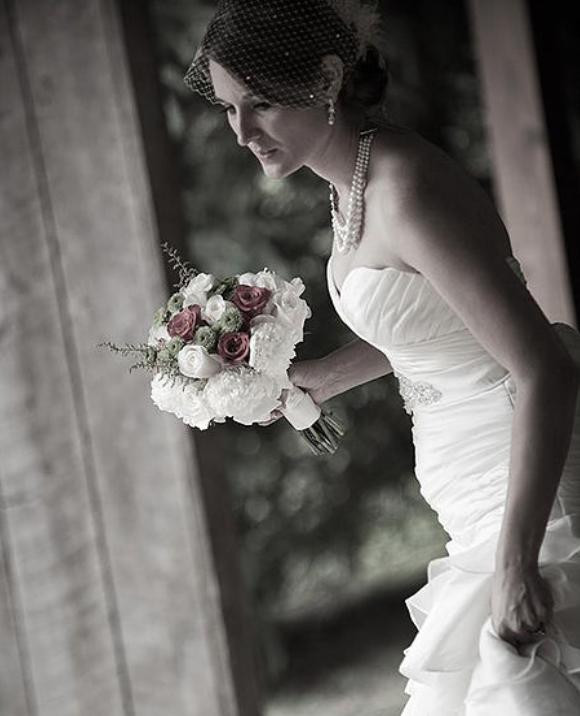 Bridal Photo by Vince Wallace, Silver Hill Images