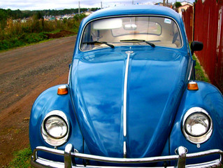 Fusca Azul 1979