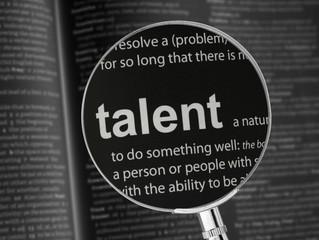Um talento sem talento