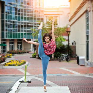 dance in city