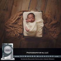 Photogrpahy magazine excellence award newborn