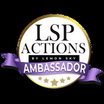 LSP Actions - Brand Ambassador Werbsite