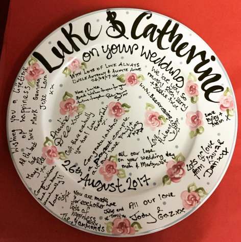 Ask in studio about or signature plates
