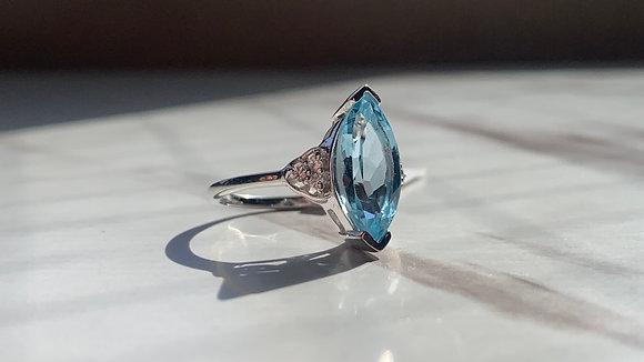 Topaz Sterling Silver Ring