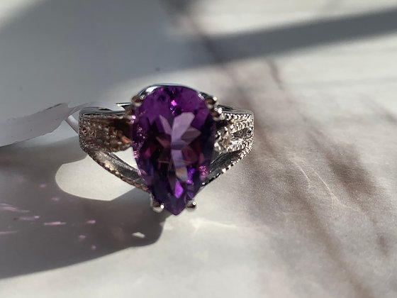 Sterling Silver 4 CTW Amethyst and Topaz