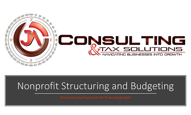 Cover of Nonprofit Structuring and Budge