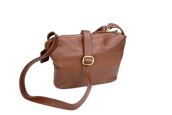 Zella Crossbody Leather Bag