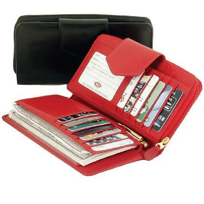 RFID Ladies Checkbook Wallet