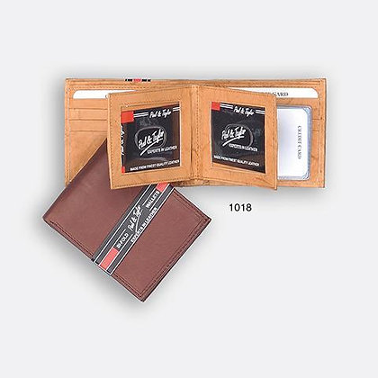 Men's Bifold with Flap