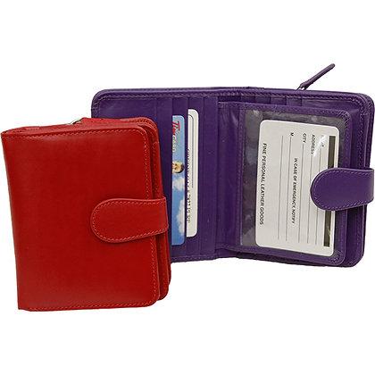 RFID Ladies Trifold Wallet