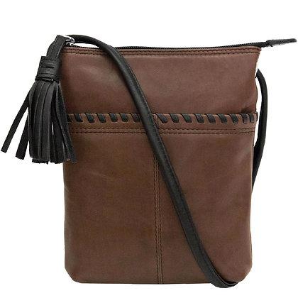 Crossbody Whipstitch Bag