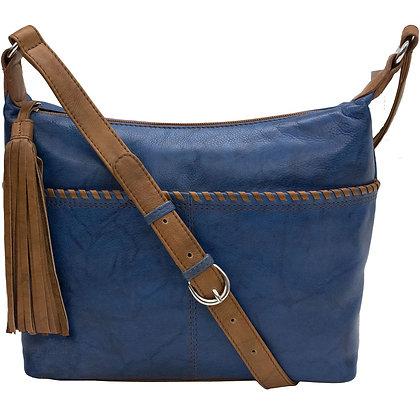Whipstitch Hobo Bag