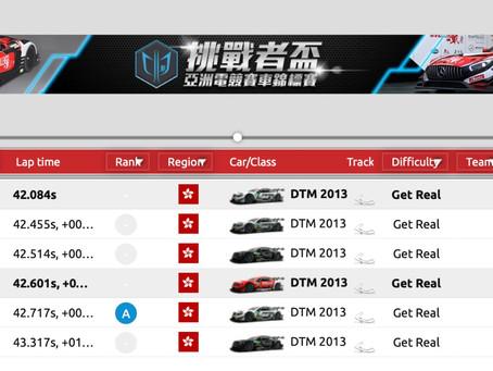 【溫馨提示: 復仇戰及決賽參賽者請在Raceroom 設置地區為香港🇭🇰】