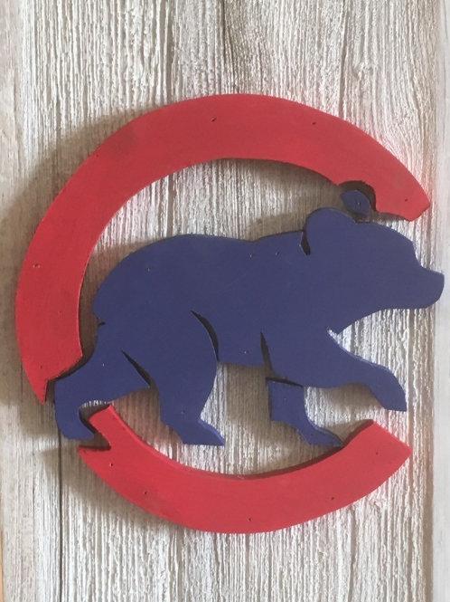 Cubs logo Flag