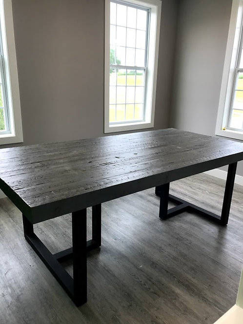 reclaimed 2x4 table top