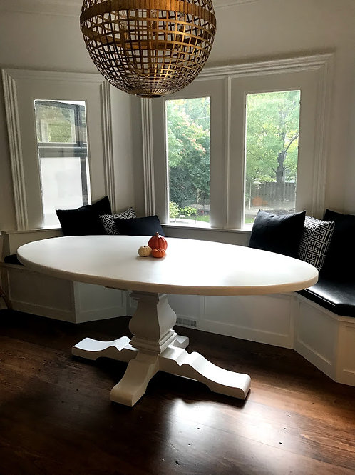 Pedestal Nook Table
