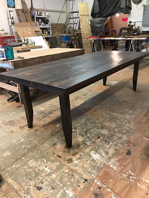 """Custom 1.5"""" thick farmhouse table"""