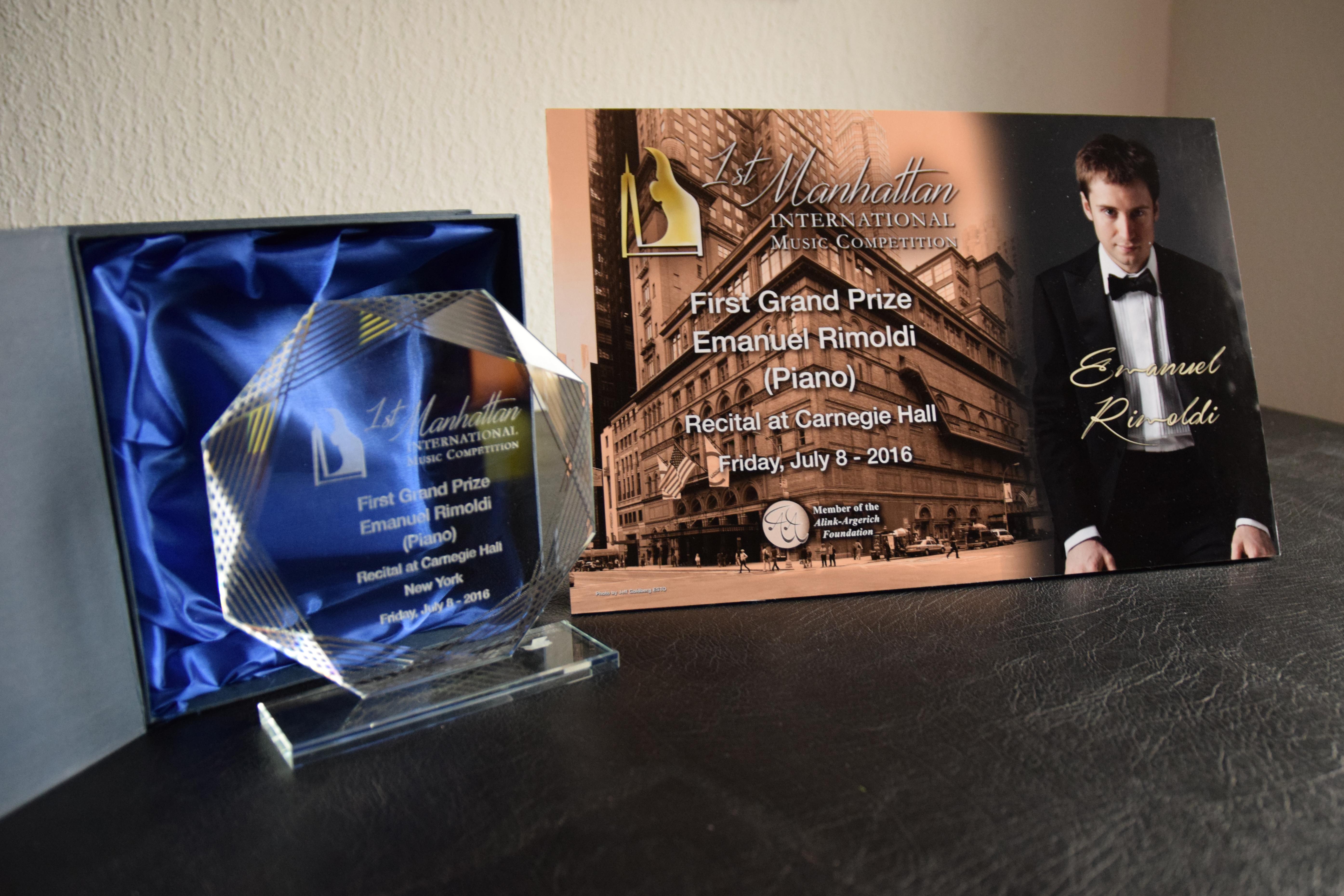 Trophy Emanuel Rimoldi
