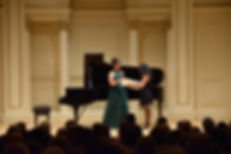 Alexia Mouza, Carnegie Hall