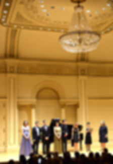 Manhattan Intenational Music Competiton, Winners' concert Carnegie Hall