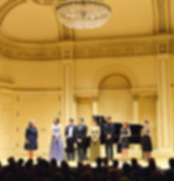 Winners' concert at Canegie Hall, Manhattan International Music Competition