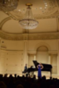 Manhattan Intenational Music Competiton, Winners' concert