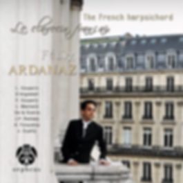 Félix Ardanaz Le clavecin français CD, The French Harpsichord